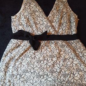 White House Black Market Lace shirt